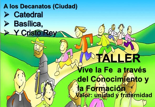 Taller «Vive la Fe a través del Conocimiento y la Formación»